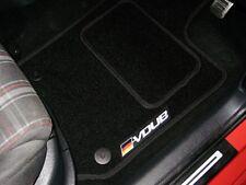 Car Floor Mats In Black To Fit Volkswagen Golf Mk4 V6 (1997-04) + VDUB Logos