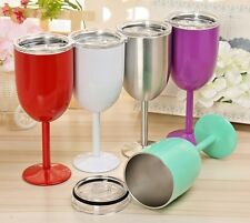 Wine Double Insulated Wine Glass, Wine Cup, Stainless Steel Wine Cup, US Seller!