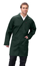 Click Warehouse Jacket Lab Coat White, Green, Navy or Royal Blue