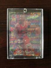 Michael Jordan 95-96 Flair Hot Numbers Bulls UNC Great Condition!