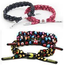 Rastaclat² Pac-Man Ghost Hand Woven Lace Bracelet