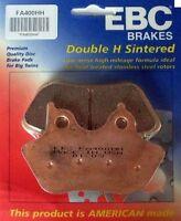 NEW EBC Sintered HH Front Brake Pads 2000-2007 Harley FLSTF/I Fat Boy FREE SHIP