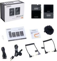 Comica BoomX-D1 2.4G Wireless Microphone System fr DSLR YouTube Livestream Vlog
