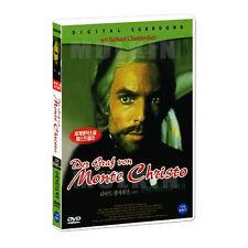 The Count Of Monte Cristo (1975) DVD -Richard Chamberlain