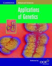 Applications of Genetics (Cambridge Advanced Sciences),Jennifer Gregory