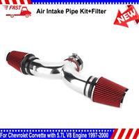 Air Intake System + Filter for Chevrolet Corvette with 5.7L V8 Engine 1997-2000