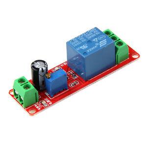 DC 12V Delay Relay Shield NE555 Timer Switch Module, Adjustable 0 - 10 Second
