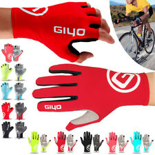 New Half Finger Cycling Bike Bicycle Padded Fingerless Sports Motorbike Gloves