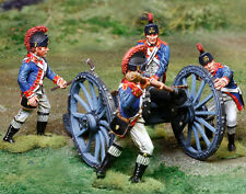 COLLECTORS SHOWCASE Complete Royal Artillery Set w/4 figures and 6 pound cannon