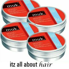 4 x Hard muk 95 gms- Low Sheen Brutal Hold Flexible Hair Styling Paste / Clay