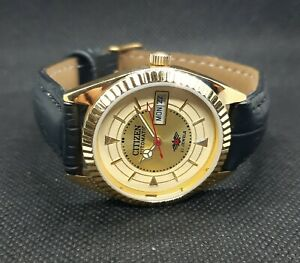 USEE VINTAGE CITIZEN AUTOMATIC DAY AND DAY WRIST WATCH PERFECT CONDL
