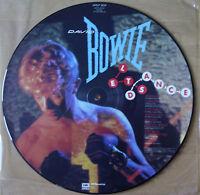 EX/EX DAVID BOWIE LET'S DANCE VINYL LP PICTURE PIC DISC