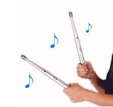 Air Drum Stick Music Rhythm Finger Stix Disco Rave Gadget DJ Djing LED Equalizer