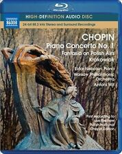 Chopin: Piano Concerto No 1 (Audio Only); Fantasia on Polish Airs Krakowiak [Blu