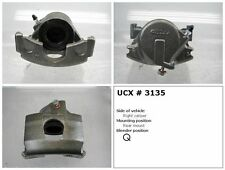 Undercar Express 10-3135S Frt Right Rebuilt Brake Caliper With Hardware