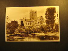 Wells Cathedral, from S.E., real photo, Valentine & Sons, unused