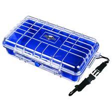 NEW Flambeau HD Series-Tuff Box Ice Tackle Box w/Zerust-Blue w/Clear Lid 602HD