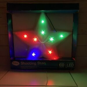 """Vintage 18.5"""" Shooting Star Christmas LED Window Sculpture Chasing Lights !READ!"""