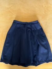Lands' End Girl's Navy Uniform Skirt Size 12