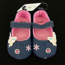 Pram Zapatos, Recién nacidos bebé niño infantil Azul Zapatos Niños que empiezan a caminar andar Zapatillas 0-12