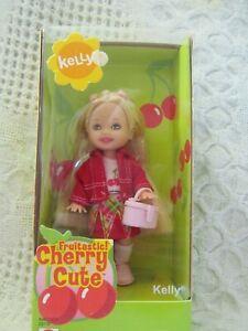 Mattel Kelly Doll Barbie Little Sister New Fruitastic Cherry Cute NRFB MIB