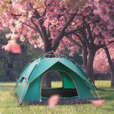 Tenda 2-4 Persone in Poliestere Per Campeggio Mare Viaggio Camping Spiaggia