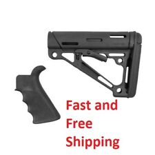 Tactical Collapsible  Commercial Stock Grip Kit Black .223 Remington Hogue 15055