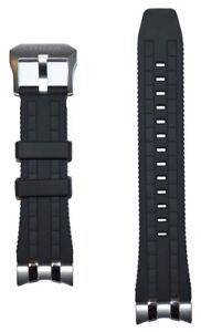 Original Citizen Skyhawk 4-S106061 / JY8051-08E Black Rubber Watch Band Strap
