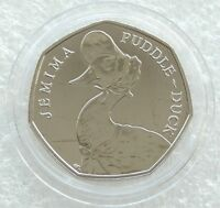 Jemima Puddle Duck 50p Fifty Pence Beatrix Potter | Uncirculated Certified BU