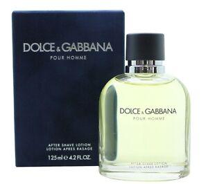 Dolce & Gabbana Pour Homme Aftershave Splash 125ml X 2