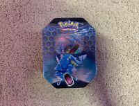 Pokemon HIDDEN FATES Gyrados-GX Tin New Factory Sealed Pokemon TCG Booster Packs