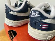 2002 2C Vtg Nike Air baby force 1 low Puerto Rico 3 Pr3 Navy red white