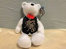 "Groom Wedding Bear 9"" Collectible Teddy Bears Limited Treasures  Marry Me"