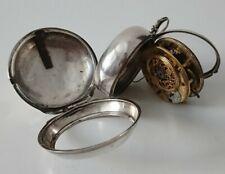 Très Rare montre GOUSSET oignon coq répétiteur 18ème vintage onion pocket watch