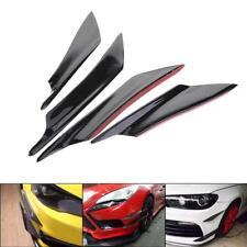 4pcs Universal Auto Front Stoßstange Flaps Splitter Fins Spoiler Flügel Canard