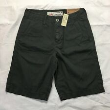 American Eagle Classic Fit Shorts Size 28 At The Knee Gray Cotton Casual NWT
