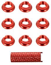Apex RC Products Red Aluminum Futaba Radio Switch Nuts #1726