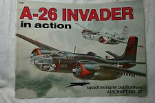 A-26 Invader in Action Squadron Signal Book # 1037 Very Good Condition