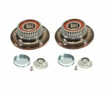 Audi TT VW Beetle Jetta Set of 2 Rear Axle Bearing and Hub Assembly FAG