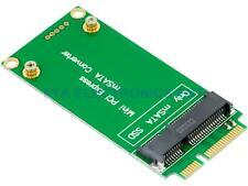 mSATA 3x5cm SSD Adapter as 3x7cm Mini PCI-e SATA SSD Hard Drive Converter PCB