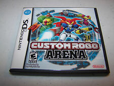 Custom Robo Arena (Nintendo DS) Lite DSi XL 3DS 2DS Game w/Case & Manual
