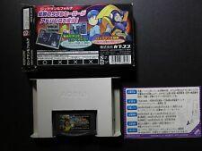Game Boy Advance - RockMan & Forte (Mega Man & Bass ) -BOXED-