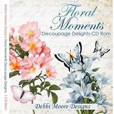 Debbi Moore Floral Moments Decoupage Delights CD Rom (321124)