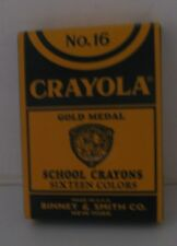 2002 Limited Edition Reprint Crayola Crayons