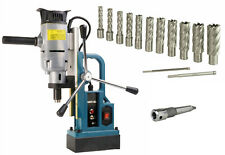 """Steel Dragon Tools® Md25 Magnetic Drill Press with 13pc 2"""" Hss Annular Cutter"""