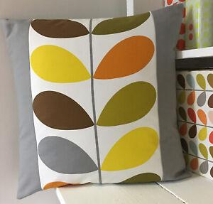 Orla Kiely Cushion Cover, Autumnal Multi Stem,             Handmade In Cornwall