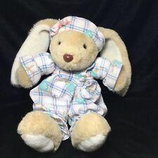 "Wondertreats Inc Bunny Rabbit Plush Hat Outfit Tan Soft Toy Stuffed 14"""