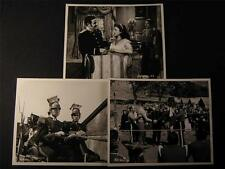 50s Paulette Goddard Jean Pierre Aumont Charge Of The Lancers 5 PHOTO LOT 275P