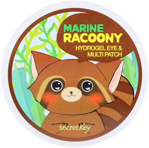Marine Racoony Hydrogel Eye & Multipatch, 60 Patches