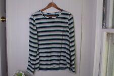 Equipment femme silk blouse S Stripe Popover NWOT Pristine